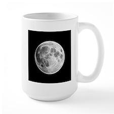 Full Moon Lunar Globe Mugs