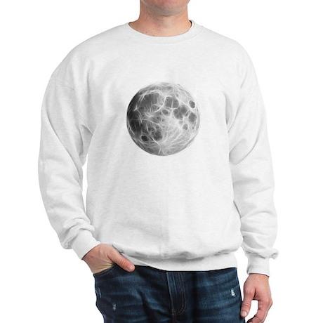 Full Moon Lunar Globe Sweatshirt