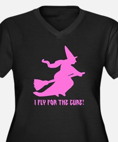 Fly for the Cure Plus Size T-Shirt