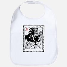 Chinese Zodiac Horse Artistic Design Bib