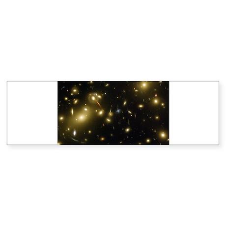 Galaxy Cluster Abell 2218 Gra Bumper Sticker