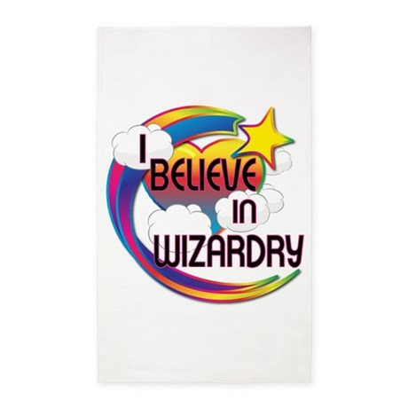 I Believe In Wizardry Cute Believer Design 3'x5' A