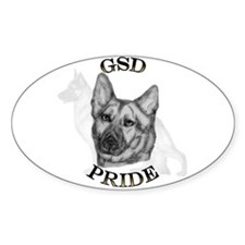 GSD Pride Oval Decal