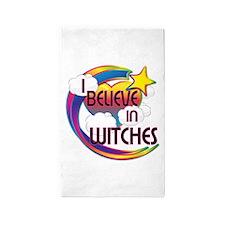 I Believe In Witches Cute Believer Design 3'x5' Ar