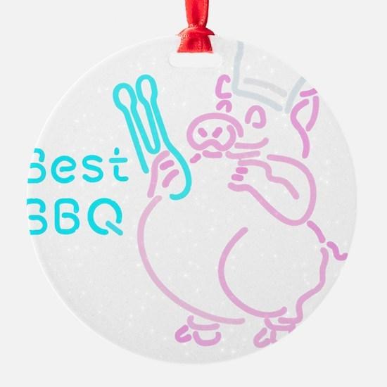 Porky BBQ Ornament