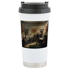 Declaration Independence Travel Mug
