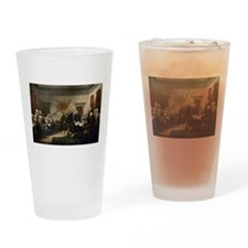 Declaration Independence Drinking Glass