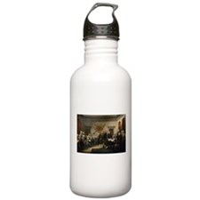 Declaration Independence Water Bottle