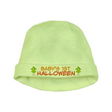 Funny Babys 1st Halloween Holiday baby hat