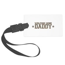 Welcome Home AIR FORCE Daddy Luggage Tag