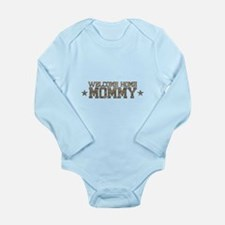 Welcome Home AIR FORCE Mommy Body Suit