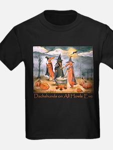 Halloween Dachshunds T-Shirt