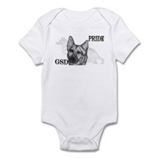 GSD Pride Infant Bodysuit