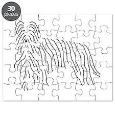 Briard Sketch Puzzle