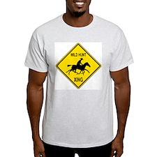 Wild Hunt Ash Grey T-Shirt