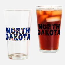 North Dakota Drinking Glass
