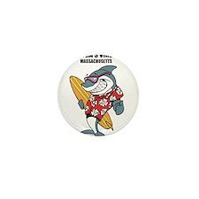 Marthas Vineyard, Massachusetts Mini Button
