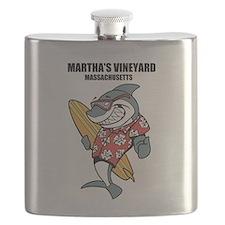 Marthas Vineyard, Massachusetts Flask