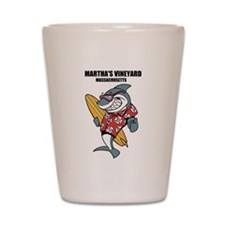 Marthas Vineyard, Massachusetts Shot Glass
