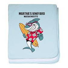 Marthas Vineyard, Massachusetts baby blanket