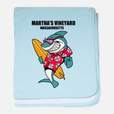 Marthas Vineyard, Massachusetts baby blanket