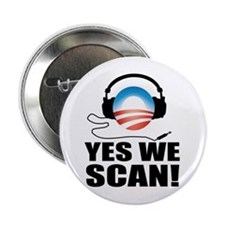 """Yes We Scan 2.25"""" Button"""