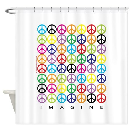 ImagineWHTVT Shower Curtain By Epochdesignshop