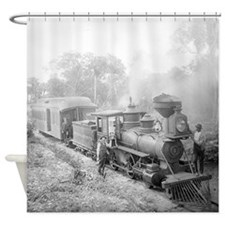 Jupiter and Lake Worth Railroad Shower Curtain