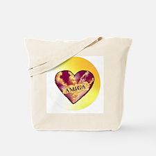 AMIGA on Heart of Sunshine Tote Bag