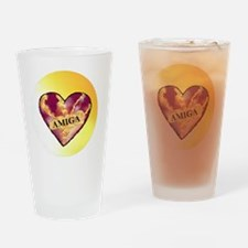 AMIGA on Heart of Sunshine Drinking Glass