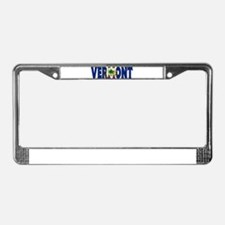 Vermont License Plate Frame