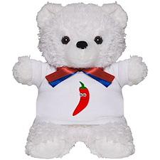 Chili Pepper Teddy Bear