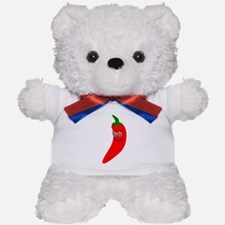 Chili Pepper Teddy Bear