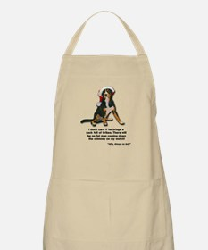 Not on My Watch! Entlebucher Christmas Apron