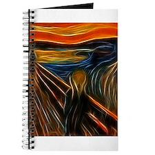 The Scream Fractal Painting Edvard Munch Journal