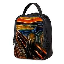The Scream Fractal Painting Edvard Munch Neoprene