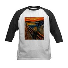 The Scream Fractal Painting Edvard Munch Baseball
