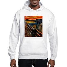 The Scream Fractal Painting Edvard Munch Hoodie