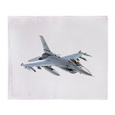 F-16 Falcon Throw Blanket