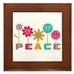 014Peace2VT.png Framed Tile