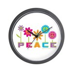 014Peace2VT.png Wall Clock