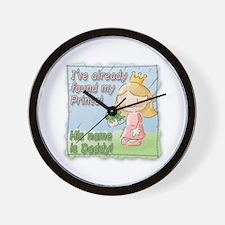 Frog Princess! Wall Clock