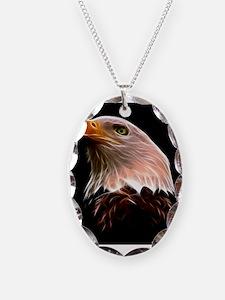 American Bald Eagle Head Necklace