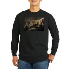 Declaration Independence Long Sleeve T-Shirt