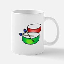 steel pan drums red green c Mugs