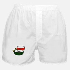 steel pan drums red green y Boxer Shorts