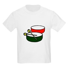 steel pan drums red green y T-Shirt