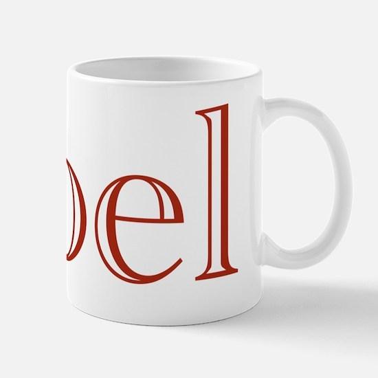Noel (Academy Engraved Text) Mug
