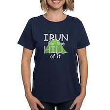Funny Hill Running T-Shirt
