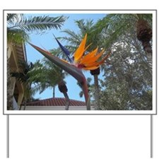 BIRD OF PARADISE NAPLES FLORIDA Yard Sign